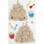 Sand Castle Medium Stickers