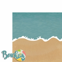 Sandy Toes: Beach Fun 2 Piece Laser Die Cut Kit