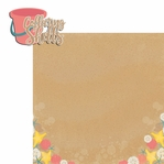 Sandy Toes: Collecting Shells 2 Piece Laser Die Cut Kit