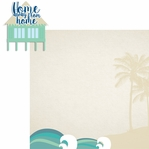 Sandy Toes: Home 2 Piece Laser Die Cut Kit