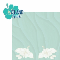 Sandy Toes: Island Time 2 Piece Laser Die Cut Kit