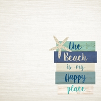 Sandy Toes: My Happy Place 12 x 12 Paper