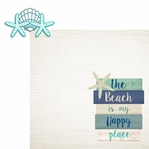 Sandy Toes: My Happy Place 2 Piece Laser Die Cut Kit