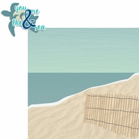 Sandy Toes: You Me And The Sea 2 Piece Laser Die Cut Kit
