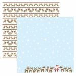 Santa's Friends 12 x 12 Double-Sided Shimmer Cardstock