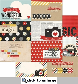 Say Cheese: 4 x 6 Horizontal Journaling Cards