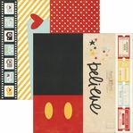 Say Cheese II: 2x12, 4x12,6x12 Double Sided Elements Cardstock