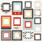 Say Cheese II: Chipboard Frames