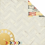 Say Cheese II: Imagination 12 x 12 Gold Foil Paper