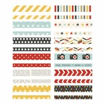 Say Cheese II Washi Paper Tape 3x4 Sheets