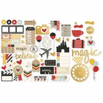 Say Cheese II With Gold Accents Bit & Pieces Die Cuts