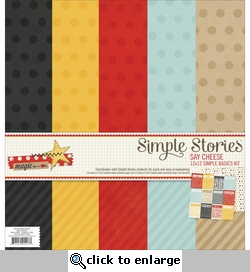 Say Cheese: Simple Basics Paper Kit 12 x12�