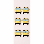 School Bus MINI Stickers