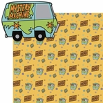 Scooby: Mystery Machine 2 Piece Laser Die Cut Kit