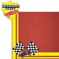 Scouting: Pinewood Derby 2 Piece Laser Die Cut Kit