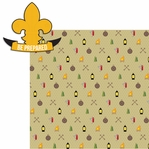 Scouts of America: Boy Scouts 2 Piece Laser Die Cut Kit