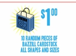 Scrap Bazzill Cardstock-10 Pieces for $1