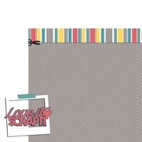 Scrap It: Love it Scrap it 2 Piece Laser Die Cut Kit