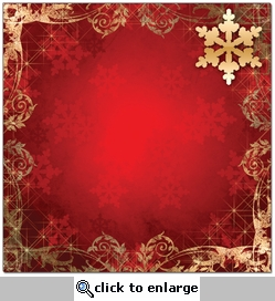 Scrap Your Trip: Christmas Border 12 x 12 Paper