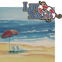 Sea Breeze: Life Saver 2 Piece Laser Die Cut Kit