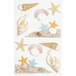 Sea Shells Medium Stickers