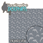 Sea The World: Feeding The Dolphins 2 Piece Laser Die Cut Kit
