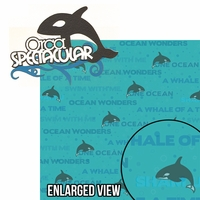 Sea The World: Orca Spectacular 2 Piece Laser Die Cut Kit