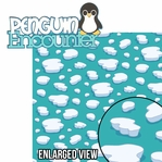 Sea The World: Penguin Encounter 2 Piece Laser Die Cut Kit