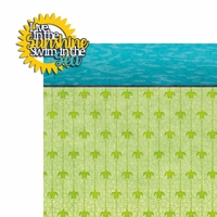 Sea Turtle: Live in the Sunshine 2 Piece Laser Die Cut Kit