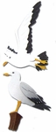 Seagulls Jolee's Boutique Dimensional Slim Stickers