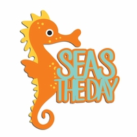 Seas the Day Laser Die Cut