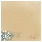 Seaside: A Day  At The Beach 12 x 12 Overlay Quick Page Laser Die Cut