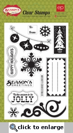 Season's Greetings: Clear Stamp Set
