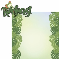 Seasoned With Magic: Rainforest 2 Piece Laser Die Cut Kit