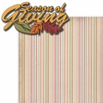 Seasons of Giving 2 Piece Laser Die Cut Kit