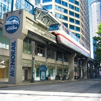 Seattle: Monorail 12 x 12 Paper