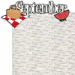 September 2 Piece Laser Die Cut Kit