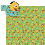 Sesame ST: Big Bird 2 Piece Laser Die Cut Kit