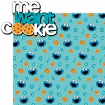 Sesame ST: Cookie 2 Piece Laser Die Cut Kit