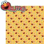 Sesame ST: Elmo 2 Piece Laser Die Cut Kit