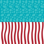 Seuss: Halvisies - Spots and Stripes 12 x 12 Paper