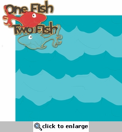 Seuss: One Fish Two Fish Laser Die Cut Kit
