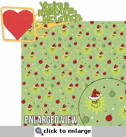Seuss: You're A Mean One Mr. Grinch Laser Die Cut Kit