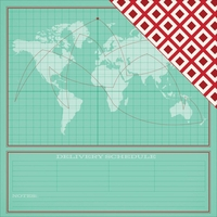 Shimelle Christmas: Deliver 12 x 12 Double-Sided Cardstock