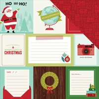 Shimelle Christmas: Joy 12 x 12 Double-Sided Cardstock