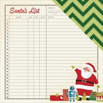 Shimelle Christmas: List 12 x 12 Double-Sided Cardstock