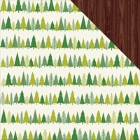 Shimelle Christmas: Trim 12 x 12 Double-Sided Cardstock