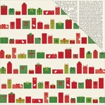 Shimelle Christmas: Wrap 12 x 12 Double-Sided Cardstock