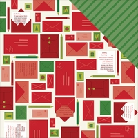 Shimelle Christmas: Write 12 x 12 Double-Sided Cardstock