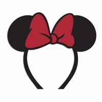 Silly Ears: Minnie hat Laser Die Cut